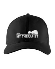 My Therapist Guitar  Embroidered Hat front