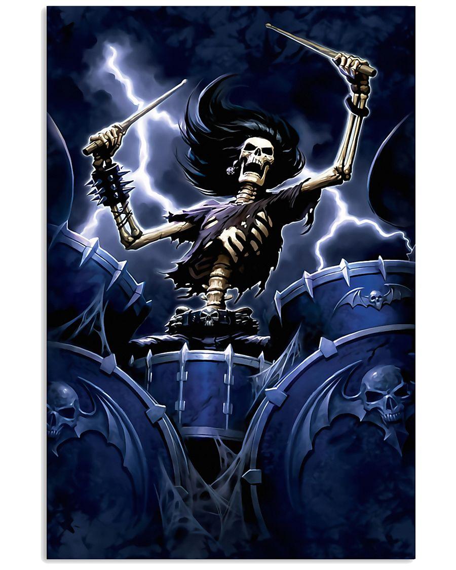 Drummer Bone  11x17 Poster