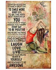 Yoga To Have A Great Day 11x17 Poster front