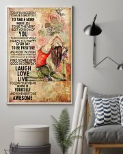 Yoga To Have A Great Day 11x17 Poster lifestyle-poster-1