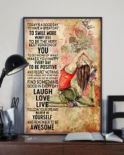 Yoga To Have A Great Day 11x17 Poster lifestyle-poster-2