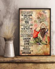 Yoga To Have A Great Day 11x17 Poster lifestyle-poster-3