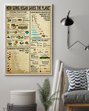 Vegan How Going Vegan Saves the Planet 11x17 Poster lifestyle-poster-1