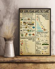 Vegan How Going Vegan Saves the Planet 11x17 Poster lifestyle-poster-3