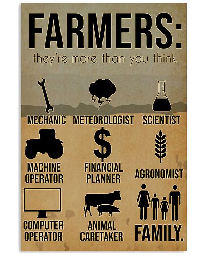 Farmers They're More Than You Think
