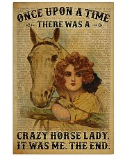 Horse Girl There Was A Crazy Horse Lady  11x17 Poster front