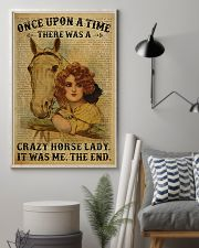 Horse Girl There Was A Crazy Horse Lady  11x17 Poster lifestyle-poster-1