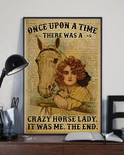 Horse Girl There Was A Crazy Horse Lady  11x17 Poster lifestyle-poster-2