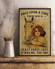 Horse Girl There Was A Crazy Horse Lady  11x17 Poster lifestyle-poster-3