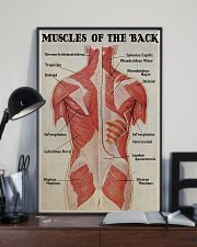 Massage Therapist Muscles Of The Back 11x17 Poster lifestyle-poster-2