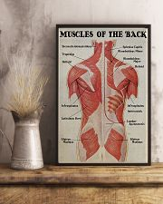 Massage Therapist Muscles Of The Back 11x17 Poster lifestyle-poster-3