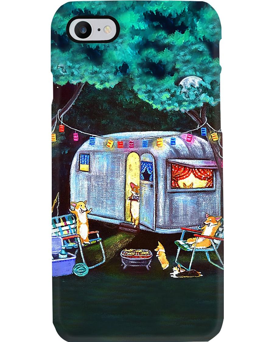 Camping Cute Dogs Phone Case