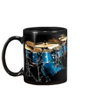 Drummer Blue Drum Set Mug back
