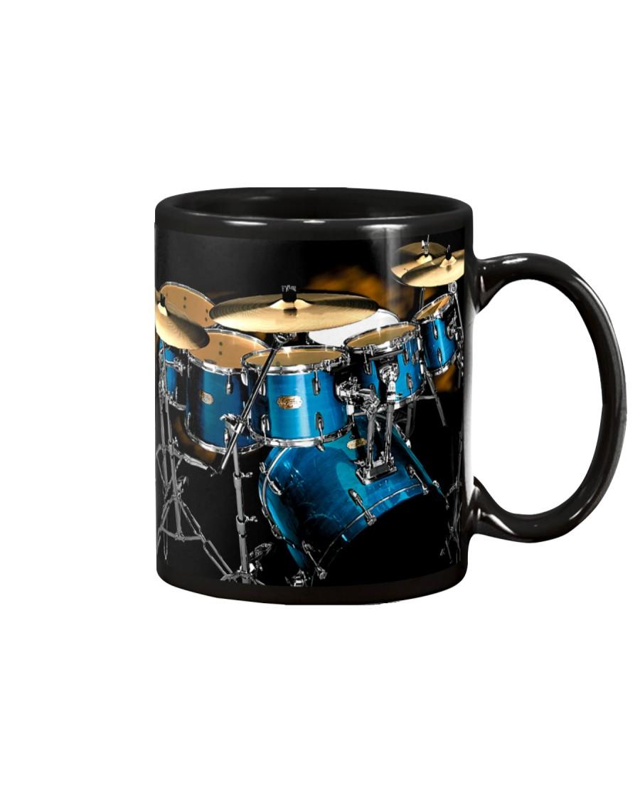 Drummer Blue Drum Set Mug