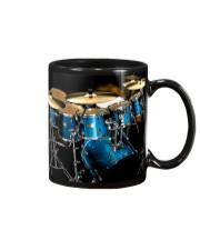 Drummer Blue Drum Set Mug front