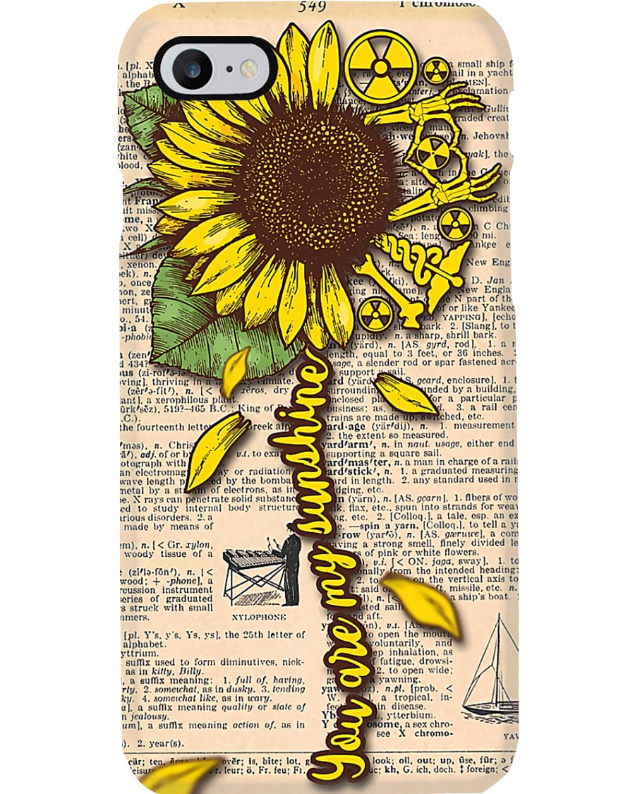 Radiologist You Are My Sunshine Phone Case