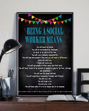 Being A Social Worker Means 11x17 Poster lifestyle-poster-2