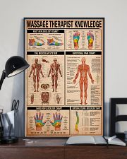 Massage Therapist Knowledge 11x17 Poster lifestyle-poster-2