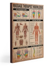 Massage Therapist Knowledge 20x30 Gallery Wrapped Canvas Prints thumbnail