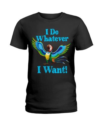 Parrot I do whatever I want