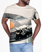 DJ Turntable Vinyl All-over T-Shirt aos-all-over-T-shirt-lifestyle-front-04