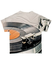 DJ Turntable Vinyl All-over T-Shirt back