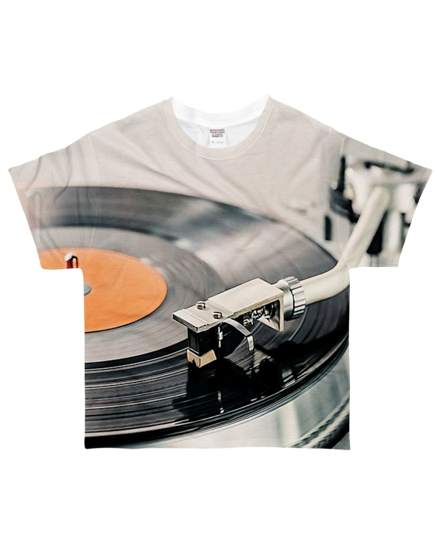 DJ Turntable Vinyl All-over T-Shirt