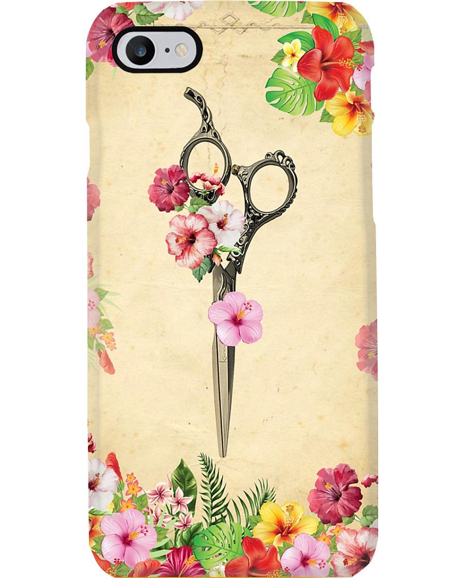 Hair Scissors Hairdresser Phone Case