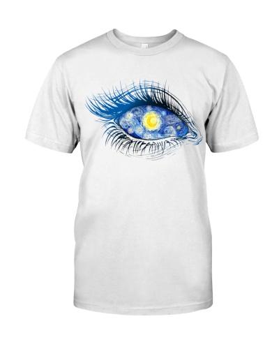 Optometrist Blue Art Eye