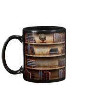 Librarian Books  Mug back