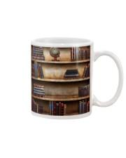 Librarian Books  Mug tile