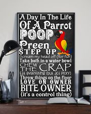 A day in the life of a Parrot Poster 11x17 Poster lifestyle-poster-2