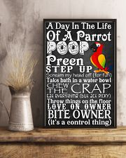 A day in the life of a Parrot Poster 11x17 Poster lifestyle-poster-3