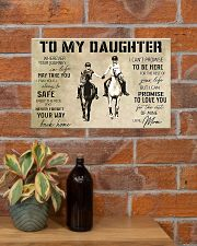 Horse Girl To My Daughter 17x11 Poster poster-landscape-17x11-lifestyle-23