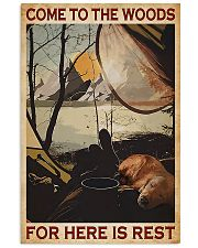 Camping Come To The Woods 11x17 Poster front