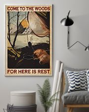 Camping Come To The Woods 11x17 Poster lifestyle-poster-1