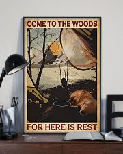 Camping Come To The Woods 11x17 Poster lifestyle-poster-2