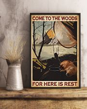 Camping Come To The Woods 11x17 Poster lifestyle-poster-3
