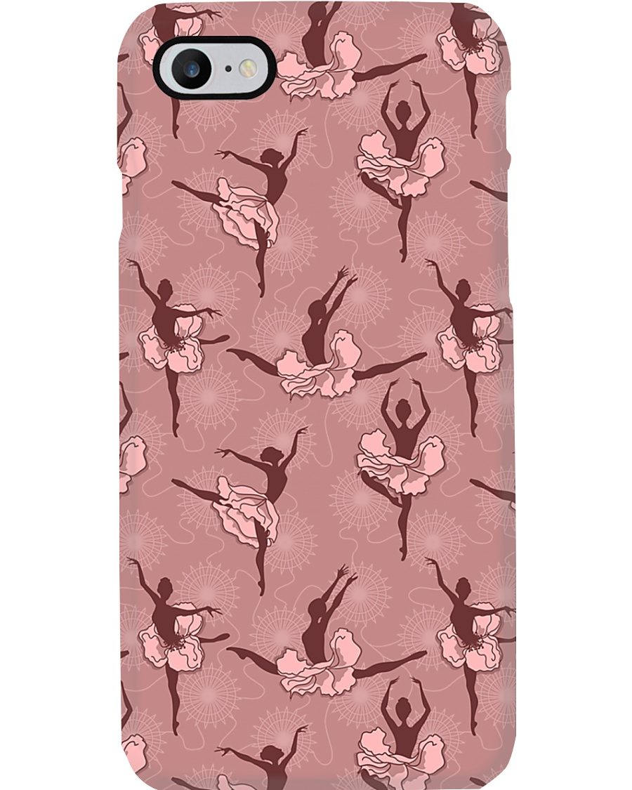 Ballet Pink Girls and flowers Phone Case