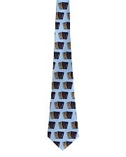 Accordion Blue Tie Tie front