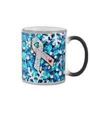 Diabetes Crystal Snowflakes Color Changing Mug thumbnail