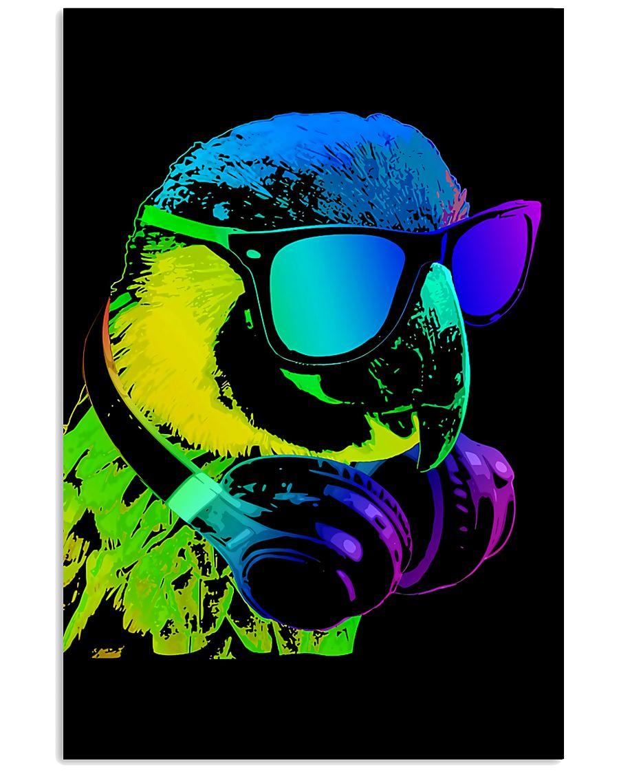 Parrot A Cool Parrot WaterColors 11x17 Poster