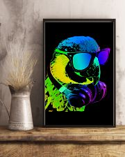Parrot A Cool Parrot WaterColors 11x17 Poster lifestyle-poster-3
