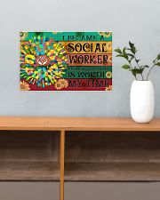 Social Worker Your Life Is Worth My Time 17x11 Poster poster-landscape-17x11-lifestyle-24