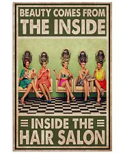 Hairdresser Beauty Comes From The Inside 11x17 Poster front