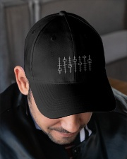 DJ Mixer Embroidered Hat garment-embroidery-hat-lifestyle-02