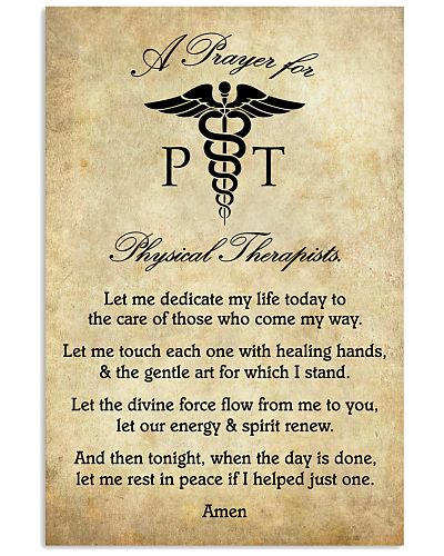 A Prayer For Physical Therapists