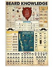 Hairdresser Beard Knowledge 11x17 Poster front