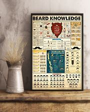 Hairdresser Beard Knowledge 11x17 Poster lifestyle-poster-3