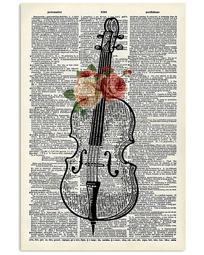 Cello and Flower